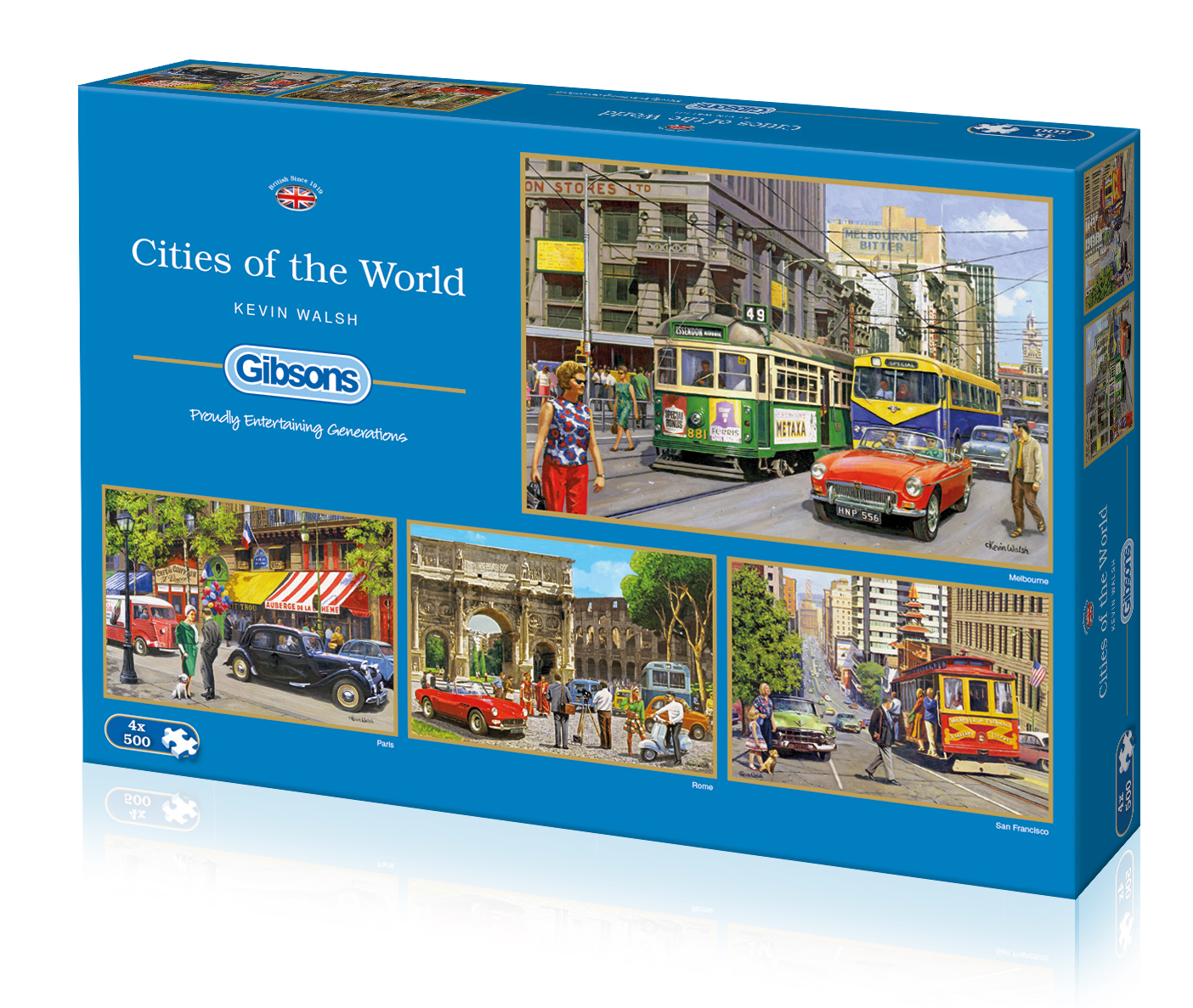 gibsons cities of the world gibsons legpuzzels