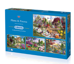 gibsons flora and fauna legpuzzels
