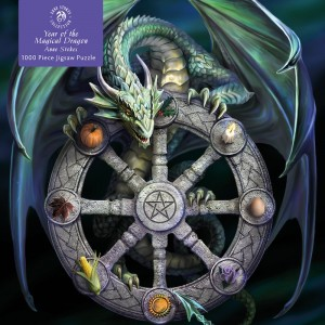 Decadence: Year of the Magical Dragon - Anne Stokes (1000) fantasypuzzel