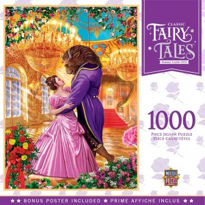 Master Pieces: Fairy Tales - Beauty and the Beast (1000) legpuzzel