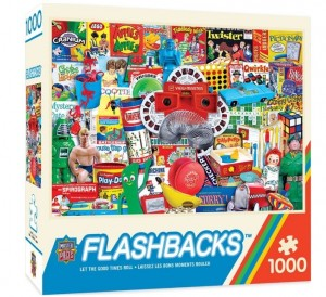 Master Pieces: Flashbacks - Let the Good Times Roll (1000) puzzel