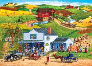 Master Pieces: Hometown - McGiveny's Country Store (1000) puzzel