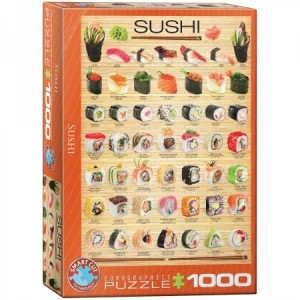 Eurographics: Sushi (1000) verticale puzzel