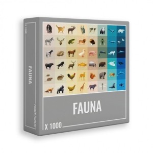Cloudberries: Fauna (1000) legpuzzel