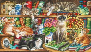 Gibsons: Puss in Books (1000)