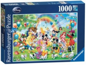 Ravensburger: Disney Mickey is jarig (1000)