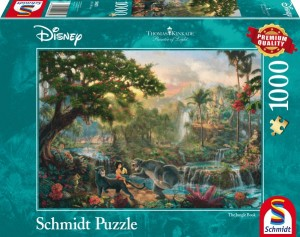 Thomas Kinkade: Disney Jungle Book (1000)