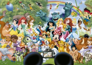 Educa: The marvellous world of Disney (1000)