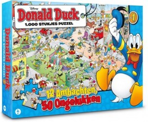 Donald Duck (1000) - legpuzzel