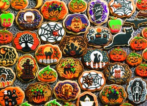 Cobble Hill: Halloween Cookies - familiepuzzel (350)
