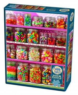 Cobble Hill: Candy Shelf (500) legpuzzel