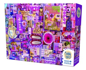 Cobble Hill: Purple (1000) legpuzzel