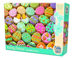 Cobble Hill: Easter Cookies (350) familiepuzzel