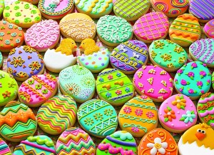 cobble hill easter cookies familiepuzzel paaspuzzel