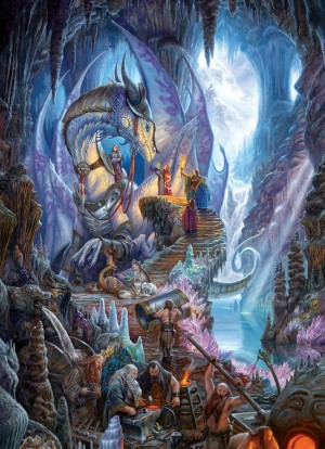 Cobble Hill: Dragonforge - Matthew Stewart (1000) fantasy puzzel