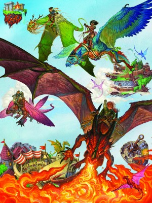 Cobble Hill: Dragon Flight - Chris Seaman (400) Familypuzzel