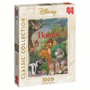 Jumbo: Disney Movie poster - Bambi (1000) verticale legpuzzel