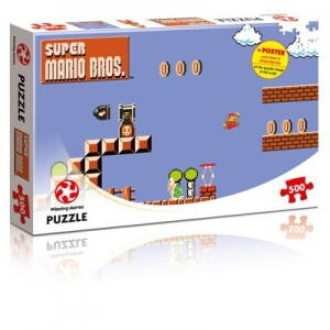Winning Moves: Super Mario Bros - High Jump (500) puzzel