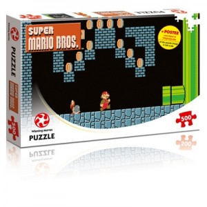 Winning Moves: Super Mario Bros - Underground Adventure (500) puzzel