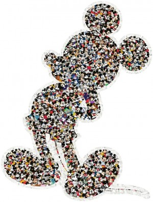 Ravensburger: Mickey Mouse Shaped puzzel (945) shaped puzzel