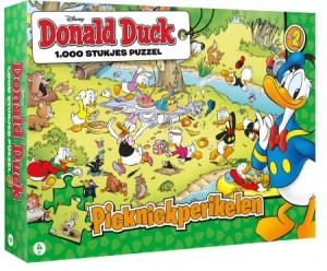 Donald Duck 2 Picknickperikelen (1000) legpuzzel