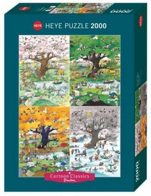 Heye: Blachon - 4 Seasons (2000) legpuzzel