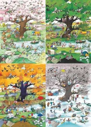 heye 29873 4 seasons blachon puzzel