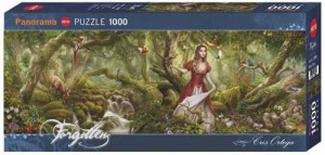 Heye: Forgotten - Forest Song (1000) panorama puzzel