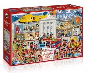 Gibsons: Lifting the Lid - Buckingham Palace (1000) puzzel
