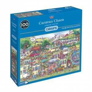 Gibsons: Caravan Chaos - Armand Foster (1000) puzzel