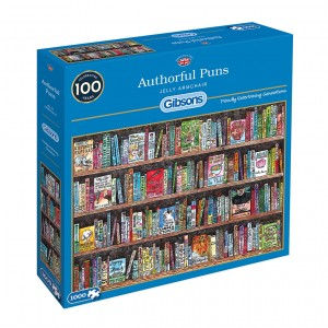 Gibsons: Authorful Puns - Jelly Armchair (1000) puzzel