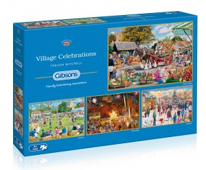 Gibsons: Village Celebrations - Trevor Mitchell (4x500) puzzel