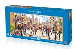 Gibsons: Cambridge - Richard MacNeil (636) panorama puzzel