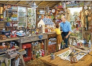Gibsons: Grandad's Workshop - Michael Herring (500XL) puzzel