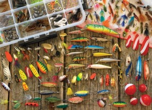 Cobble Hill: Fishing Lures (1000) legpuzzel
