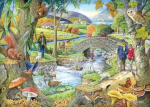 House of Puzzles: Riverside Walk (1000) legpuzzel