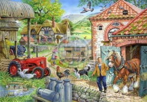 House of Puzzles: Manor Farm (1000) legpuzzel