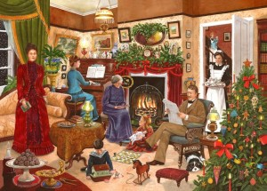 House of Puzzles: Christmas nr 12 - Christmas Past (1000) kerstpuzzel