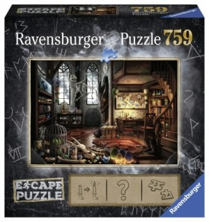 Ravensburger: Escape puzzel - In het drakenlaboratorium (759)