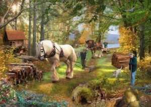 House of Puzzles: Horse Power (500) legpuzzel
