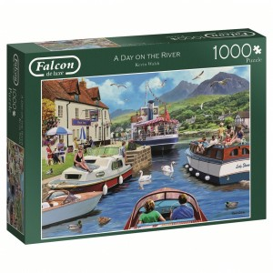 day on the river falcon legpuzzel