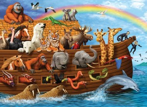 Cobble Hill: Voyage of the Ark (350) Familypuzzel