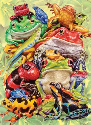 Cobble Hill: Frog Pile (350) familypuzzel