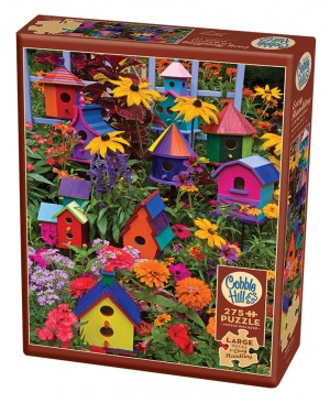 Cobble Hill: Birdhouses (275XXL) Easy Handling puzzel