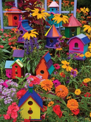 cobble hill birdhouses 88014 easy handling puzzels