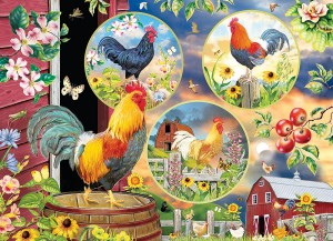Cobble Hill: Rooster Magic (500) legpuzzel