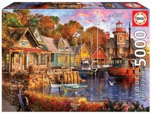 Educa: The Harbour Evening (5000) grote puzzel