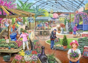 House of Puzzles: At the Garden Centre (1000) legpuzzel