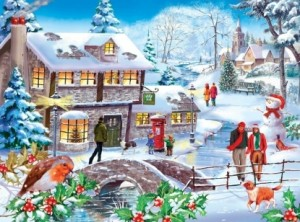 House of Puzzles: Winter Walk (500) legpuzzel