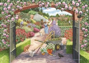 House of Puzzles: Walled Garden (500) legpuzzel